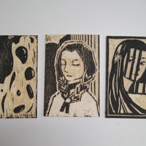 Shishi Zu. Planchas de xilografia/woodcut plates