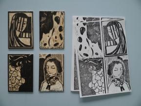 Shishi Zu. Planchas y xilografias/plates and woodcuts.