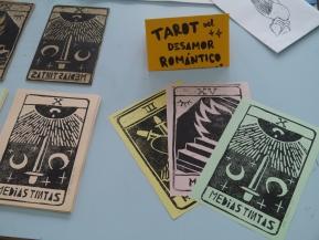 Alba Mezcua's tarot-inspired cards. Alba Mezcua, Tarot del Desamor Romantico.